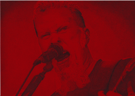 James Hetfield por vidaddict